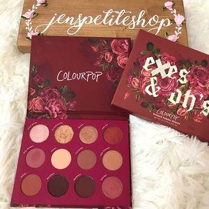 Colourpop exes & oh's pressed powder palette